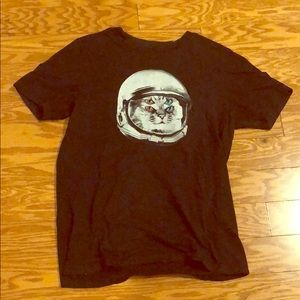 Brooklyn Industries Space cat shirt